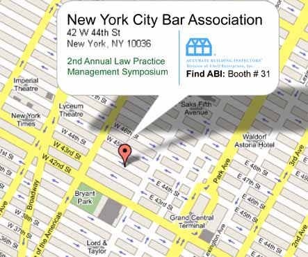 NY Map for New York City Bar Association